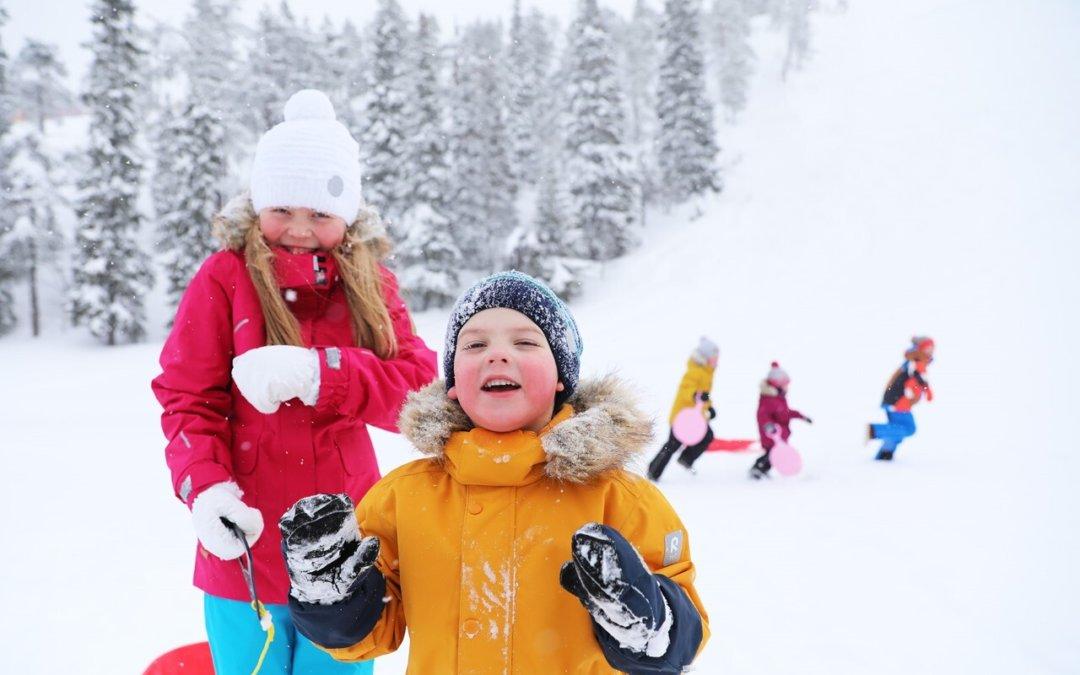 Lapsilla on oikeus lumiseen tulevaisuuteen